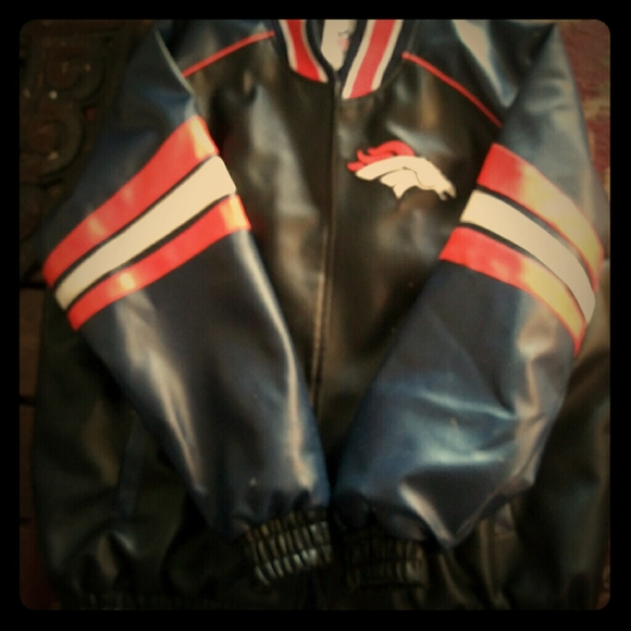 Broncos Other - Official ALL LEATHER 2XL BRONCOS JACKET.